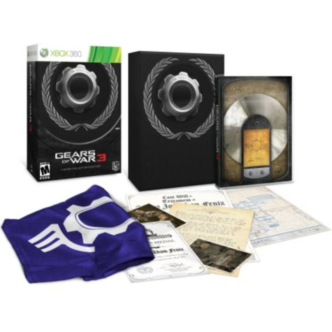 Gears of War 3 Limited Edition - Xbox 360