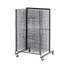 "School Specialty Steel Drying Rack, 44"" x 26"" x 26"""