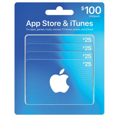 $100 App Store & iTunes Gift Cards