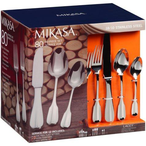 Mikasa 80 Piece Flatware Set - Various Styles