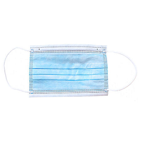 Disposable Face Mask with Elastic Ear Loops (50 ct.)