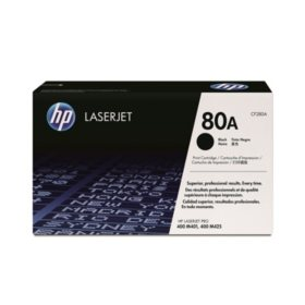 HP 80A Original Laser Jet Toner Cartridge, Black - 2,700 Yield