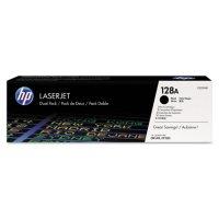 HP 128A Original Laser Jet Toner Cartridge, Black (2 pk., 2,000 Page Yield)