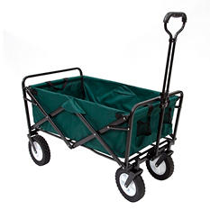 Green Folding Wagon