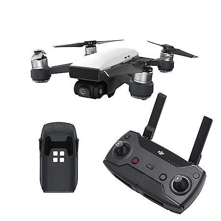 Dji Spark Drone >> Dji Spark Drone With Remote And Extra Battery Bundle Sam S Club