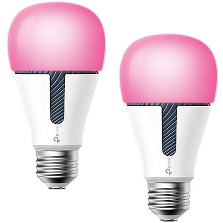 Pack Wi Dimmable Light Smart Fi Multicolor Kasa Tp Link Bulb2 Led wO08nPk