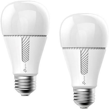 TP-Link Kasa Smart Wi-Fi White LED Tunable Light Bulb (2 pack)