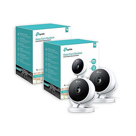 TP-Link KC200 Kasa Cam 1080p Outdoor Network Camera (2 Pack)