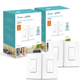 TP-Link HS210 Smart Wi-Fi Light Switches (4 Switches)