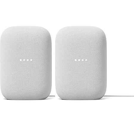 Google Nest Audio Chalk (2 Pack)
