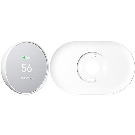 Google Nest Smart Thermostat with Bonus Trim Kit (Snow)