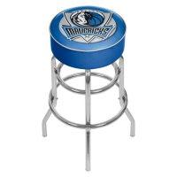 Dallas Mavericks NBA Padded Swivel Bar Stool