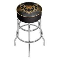 Pontiac Firebird Padded Swivel Bar Stool (Assorted Colors)