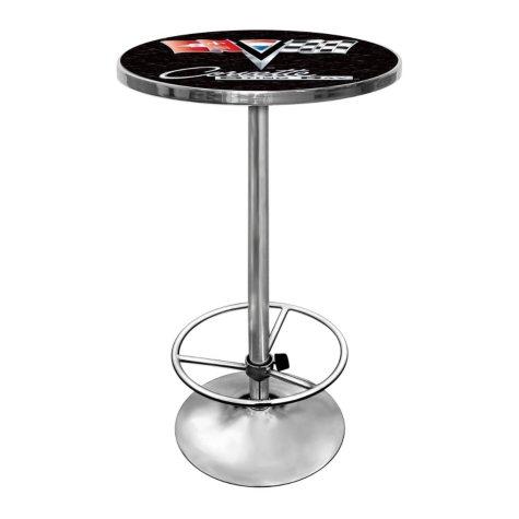 Corvette C2 Chrome Pub Table (Assorted Colors)