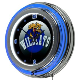 University of Kentucky Wildcats Neon Wall-Mounted Clock (Assorted Styles)