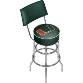 University of Miami Bar Stool (Assorted Styles)