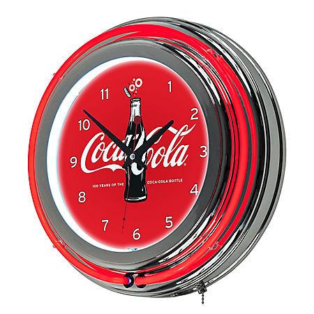 Coca Cola Neon Clock (Assorted Styles)