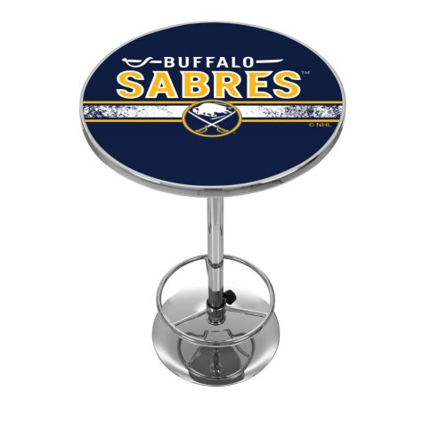 NHL Chrome Pub Table, Buffalo Sabres