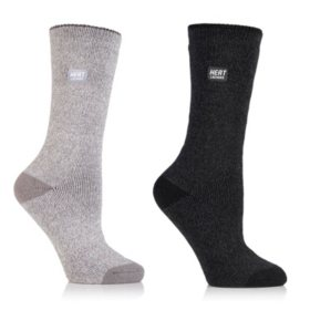 0134146e89f0b Heat Lockers® Ladies Everyday Crew Socks 2 Pair Pack