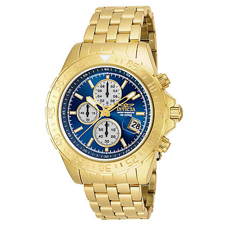 Invicta Men's Aviator Quartz Watch 47mm