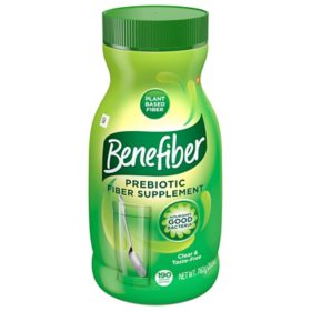 Benefiber Daily Prebiotic Fiber Supplement Powder for Digestive Health, Unflavored (26.8 oz.)
