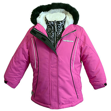 fc4e9ce74 ZeroXposur Girl's 3-in-1 Systems Jacket - Sam's Club