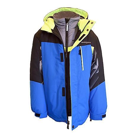 17c5a74b6 ZeroXposur Boy's 3-in-1 Systems Jacket - Sam's Club