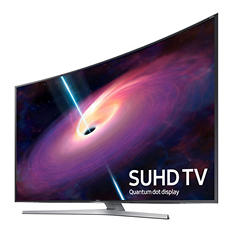 "Samsung 78"" Curved 4K SUHD Smart LED TV  - UN78JS9100"