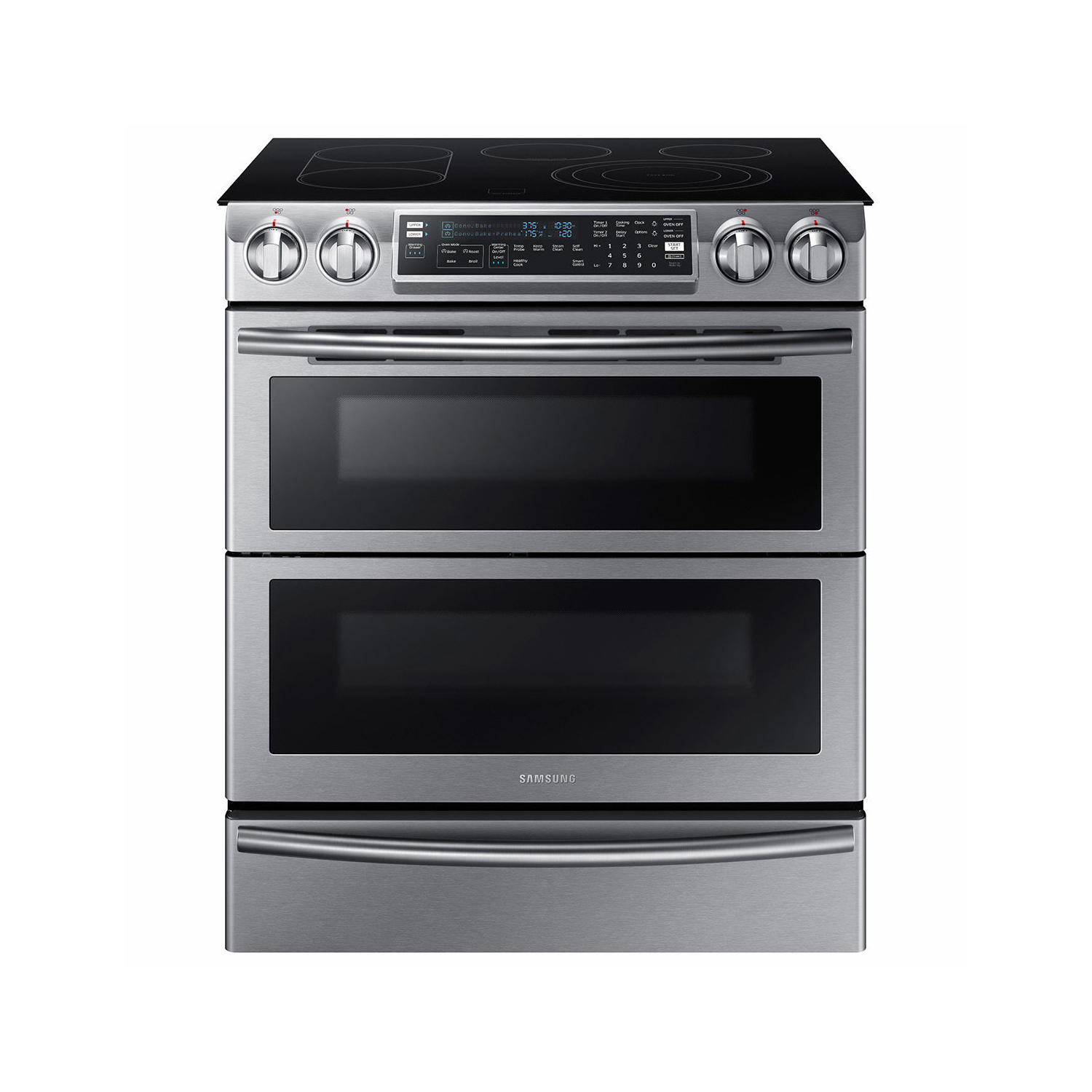 Samsung 5.8 Cu. Ft. Slide-In Electric Range With Flex Duo