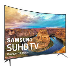 "Samsung 55"" Class Curved 4K SUHD Smart LED TV  - UN55KS850D"
