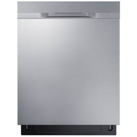 SAMSUNG Top Control 48-Decibel Built-In Dishwasher with StormWash, Stainless Steel - DW80K5050US