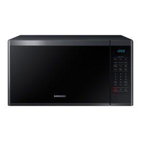 Samsung 1.4 cu. ft. Countertop Microwave (Black Stainless Steel)