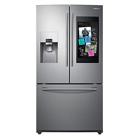 SAMSUNG 24 2 Cu  Ft  3-Door French Door Refrigerator with