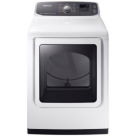 SAMSUNG 7.4 Cu. Ft. Electric Dryer with Steam Cycle  - DVE52M7750
