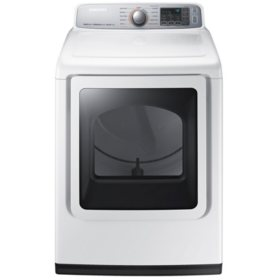 SAMSUNG 7.4 Cu. Ft. Gas Dryer with Steam Cycle - DVG50M7450