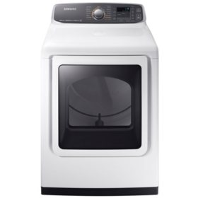 SAMSUNG 7.4 Cu. Ft. Gas Dryer with Steam Cycle - DVG52M7750
