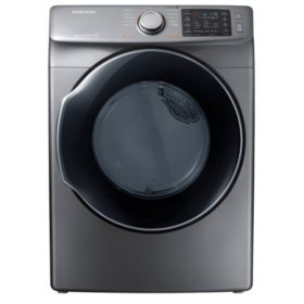 SAMSUNG 7.5 Cu. Ft. Electric Stackable Dryer with Steam Cycle -  DVE45M5500 / DVG45M5500