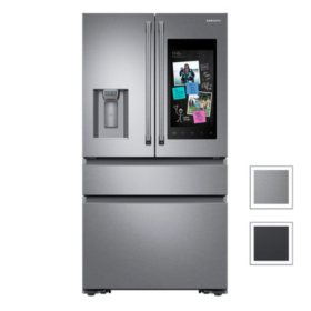 Samsung 22 cu. ft. Counter Depth 4-Door Refrigerator with Family Hub™