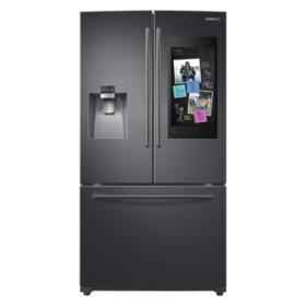 SAMSUNG 24.2 Cu. Ft. 3-Door French Door Refrigerator with Family Hub™- RF265BEAESG
