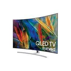 """Samsung 65"""" Class Q7 Series - Curved QLED, 4K Ultra HD, Smart TV - 2160p, 240MR (QN65Q7CAMFXZA)"""