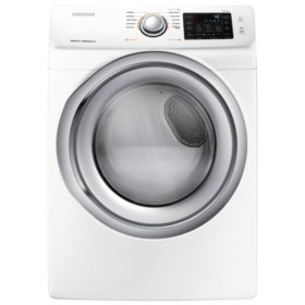 SAMSUNG 7.5 Cu. Ft. Electric Front Load Dryer with Steam - DVE45N5300