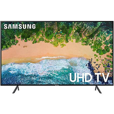 "Samsung 55"" Class 4K (2160p) Ultra HD Smart LED TV with HDR - UN55NU710DFXZA"