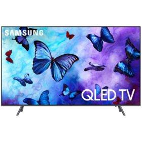"SAMSUNG 75"" Class 4K (2160p) Ultra HD Smart QLED TV with HDR - QN75Q65FNFXZA"