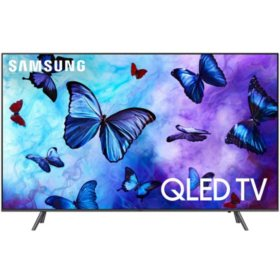 "SAMSUNG 65"" Class 4K (2160p) Ultra HD Smart QLED TV with HDR - QN65Q65FNFXZA"
