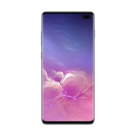 Samsung Galaxy S10+ Smartphone Unlocked - Black (Choose Capacity)