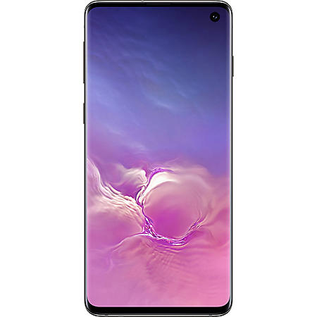 Samsung Galaxy S10 Unlocked (Black) - Choose Capacity