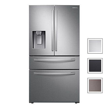 Samsung 22 cu. ft. French Door Counter Depth Refrigerator with Food Showcase