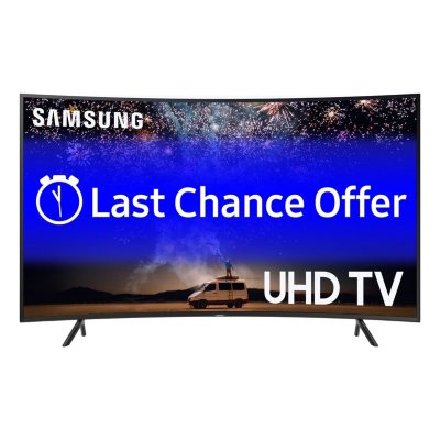 "Samsung UN55RU730D 55"" Curved 4K Smart LED UHDTV"