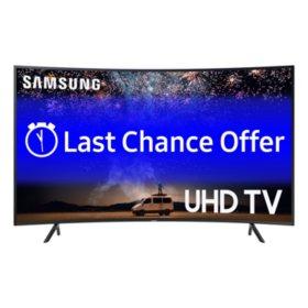 "SAMSUNG 65"" Class 7-Series Curved 4K Ultra HD Smart HDR TV - UN65RU730DFXZA"