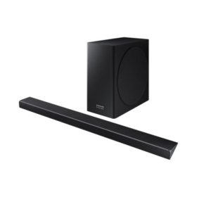 SAMSUNG Harman Kardon 3.1.2 Channel 330W Dolby Atmos Soundbar with Wireless Subwoofer - HW-Q70R/ZA